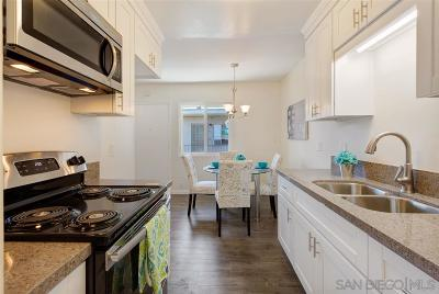 San Diego County Attached For Sale: 4267 44th St #14