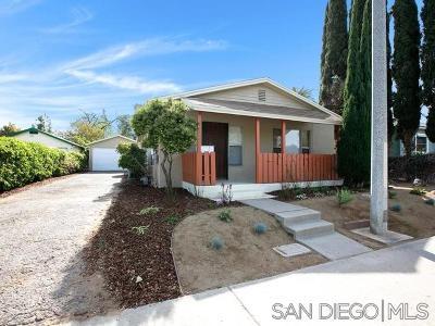 Single Family Home For Sale: 531 Avocado Ave