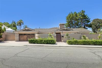 San Diego Single Family Home For Sale: 12301 Frontera Rd
