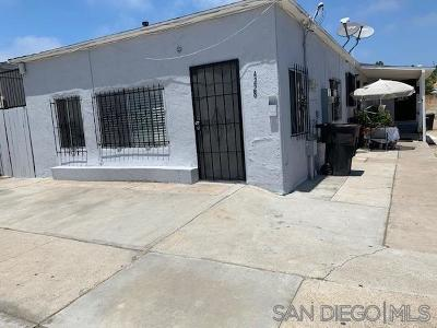 San Diego Multi Family 2-4 For Sale: 4228-32 Ocean View Blvd