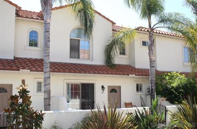 Oceanside Townhouse For Sale: 4022 Craven Rd. #23