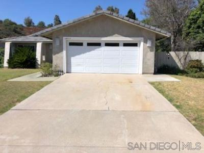 Bonita Single Family Home Contingent: 3855 Corral Canyon Rd.