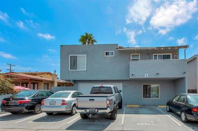 San Diego Multi Family 5+ For Sale: 4225 42nd St