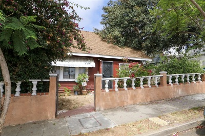 San Diego Single Family Home For Sale: 520 31st St.