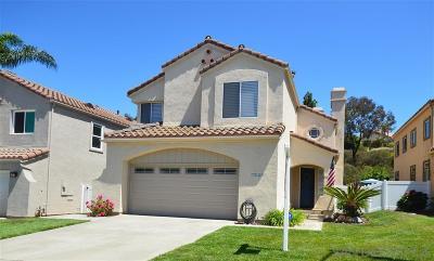 Oceanside Single Family Home For Sale: 3629 Via Bernardo