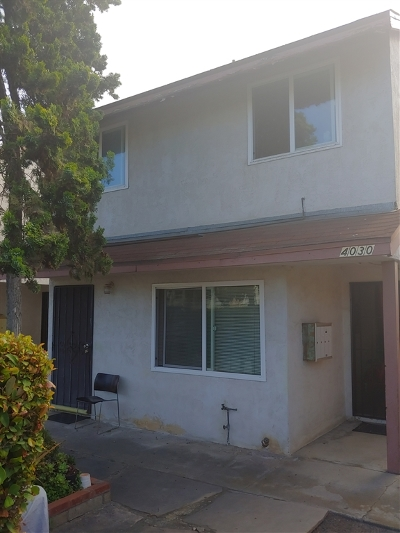 Pacific Beach Rental For Rent: 4024 Ingraham Street #1/2