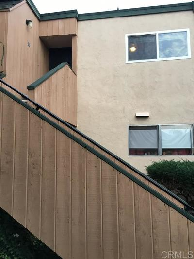 San Diego Attached For Sale: 8749 Lake Murray Blvd #10