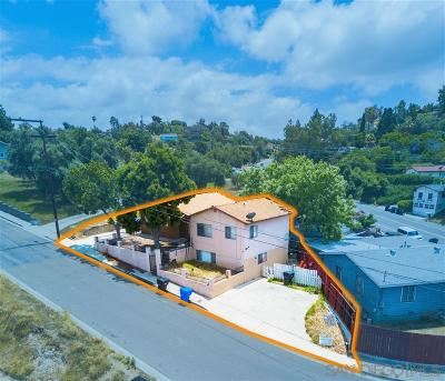 San Diego Single Family Home For Sale: 550-54 Ritchey St.