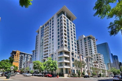 San Diego Attached For Sale: 425 W Beech St. #415