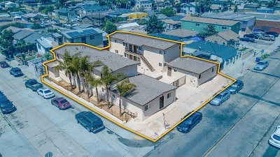 San Diego Multi Family 5+ For Sale: 3750-60 Ocean View Blvd