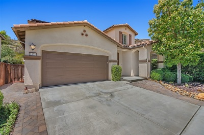 San Marcos CA Single Family Home For Sale: $795,000