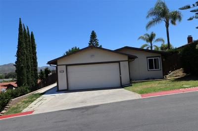 Escondido Single Family Home For Sale: 146 Fargo Gln