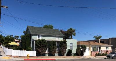 San Diego Multi Family 2-4 For Sale: 1245 Colusa St