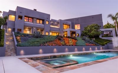 Fairbanks Ranch Single Family Home For Sale: 6785 Las Ventanas