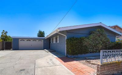 San Diego Single Family Home For Sale: 2445 Melbourne Dr