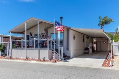 Oceanside CA Mobile/Manufactured For Sale: $279,900