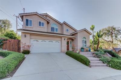 La Mesa Single Family Home For Sale: 4800 Glen St