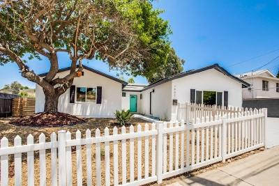 San Diego CA Single Family Home For Sale: $510,000