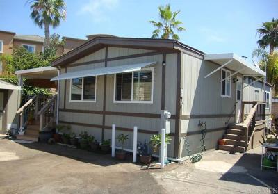 Oceanside CA Mobile/Manufactured For Sale: $259,000