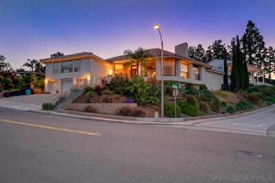 Del Cerro, Del Cerro Heights, Del Cerro Highlands, Del Cerro Terrace Single Family Home For Sale: 6144 Madra