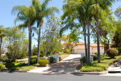 Poway Single Family Home For Sale: 16255 Country Day