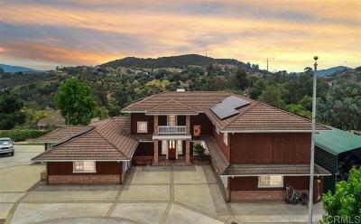 Escondido Single Family Home For Sale: Jesmond Dene Heights Pl