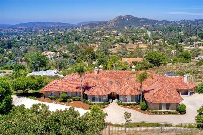 Poway Single Family Home For Sale: 15141 Orchard View