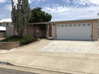 San Diego Single Family Home For Sale: 1963 Ainsley Rd
