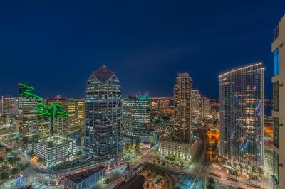 San Diego Attached For Sale: 1199 Pacific Hwy #3303