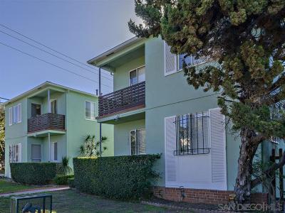 San Diego Multi Family 5+ For Sale: 1411 Tyler