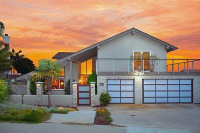 San Diego Single Family Home For Sale: 2169 Harbour Heights Rd