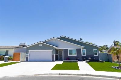 La Mesa Single Family Home For Sale: 4589 Dauer Ave
