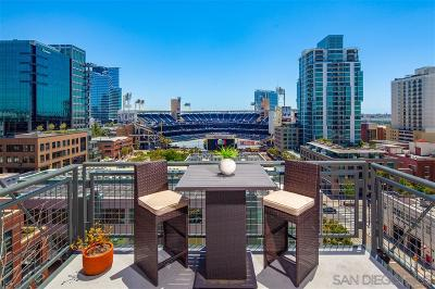 San Diego Attached For Sale: 877 Island Avenue #908