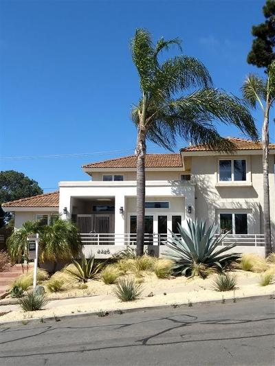 Sunset Cliffs Single Family Home For Sale: 4426 Adair St.