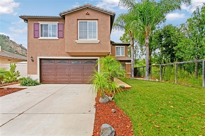 Escondido Single Family Home For Sale: 2954 Oakstone Creek Pl