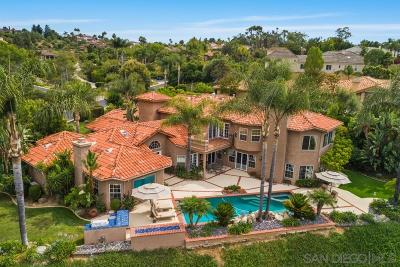 Poway Single Family Home For Sale: 13550 Highlands Ranch Road