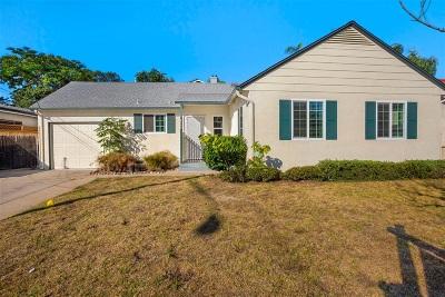 La Mesa Single Family Home For Sale: 3341 Fairway Dr