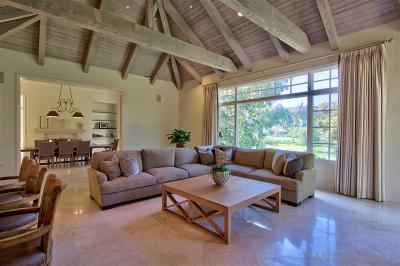 Fairbanks Ranch Single Family Home For Sale: 6261 Clubhouse Drive