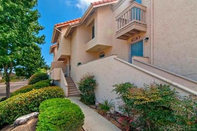 La Jolla Townhouse For Sale: 8282 Gilman #40