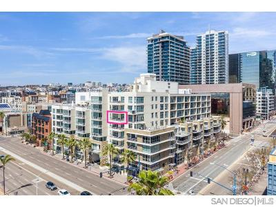 San Diego Attached For Sale: 1431 Pacific Hwy #706