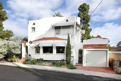 Mission Hills Single Family Home For Sale: 3933 Saint James Place