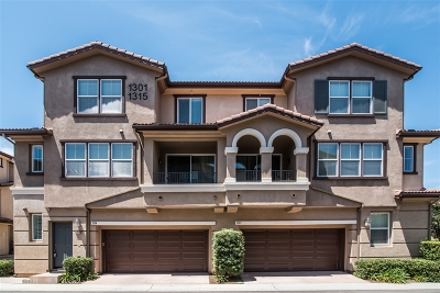 Santee Townhouse For Sale: 1314 Calabria