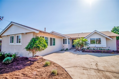 San Diego Single Family Home For Sale: 4390 Mount Jeffers Ave