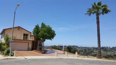 San Diego Single Family Home For Sale: 5448 Jamestown Rd.