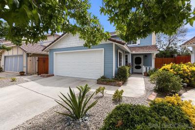Escondido Single Family Home For Sale: 1746 S Mammoth Pl