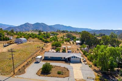 Valley Center Single Family Home For Sale: 28451 Sunset Rd