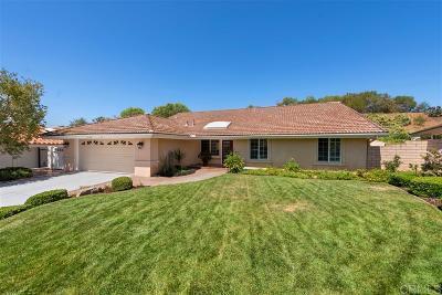 Poway Single Family Home For Sale: 13128 Pomard Way