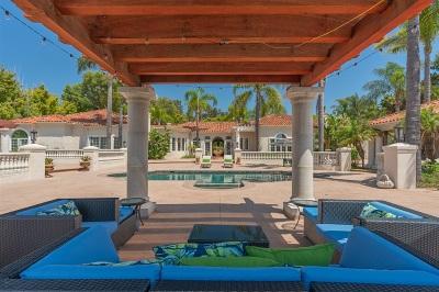 Rancho Santa Fe Single Family Home For Sale: 6998 Rancho La Cima Dr.