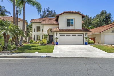 Oceanside Single Family Home For Sale: 2097 Tiffany Dr
