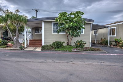 Carlsbad Mobile/Manufactured For Sale: 6550 Ponto Dr #SPC 9